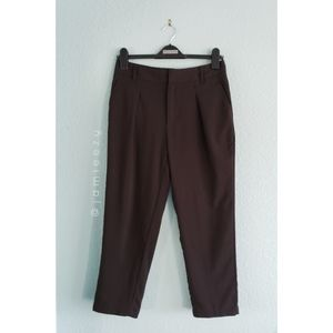 Silence + Noise   Cropped Tapered Dress Pants